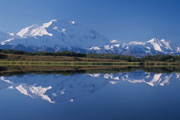 Mount McKinley reflection in Reflection Pond