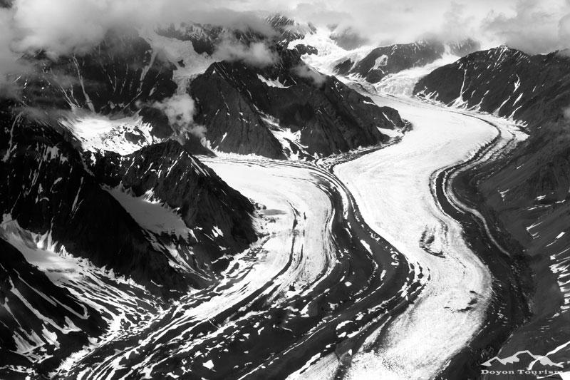 Glaciers in Denali National Park